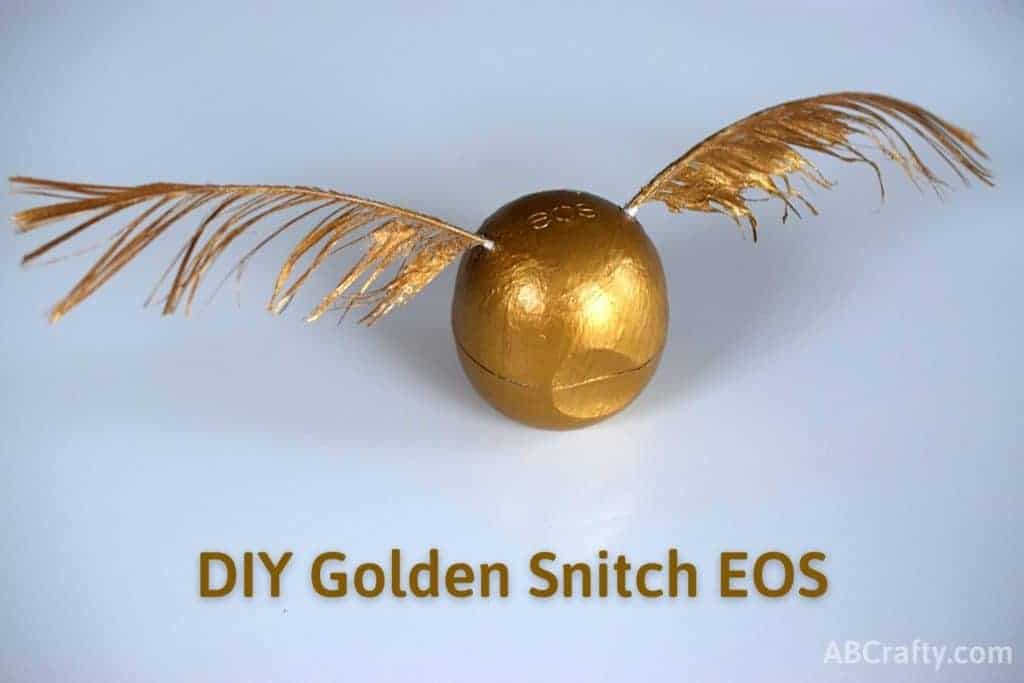 Golden Snitch Harry Potter EOS Titled