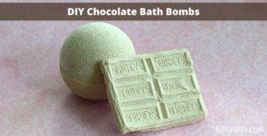Titled DIY Chocolate Bath Bombs
