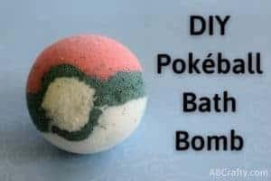 Finished pokemon bath bomb