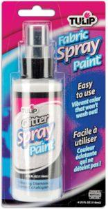 Tulip Glitter Spray Paint in Glittering Diamond