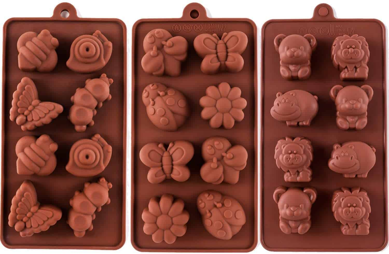 insects and animals silicone mold